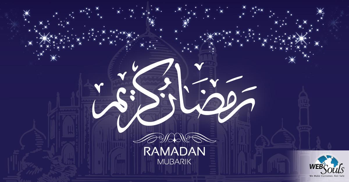 Ramadan Mubarak from Websouls